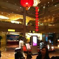 Photo taken at Crowne Plaza Shanghai | 上海银星皇冠酒店 by Thomas L. on 5/25/2012