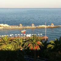 Photo taken at Beach by Julia Z. on 8/21/2012