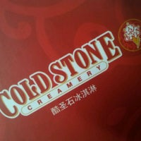 Photo taken at Cold Stone Creamery (酷圣石冰淇淋) by . S. on 4/26/2012