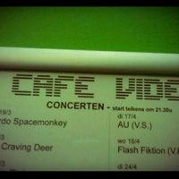 Photo taken at Café Video by Thomas V. on 4/20/2012