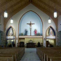 Photo taken at Immaculate Conception Church by Russ M. on 4/23/2012