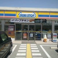 Photo taken at Ministop by じゅんぺ~ 。. on 4/28/2012