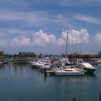 Photo taken at Bayside Marina by Tasha D. on 8/18/2012