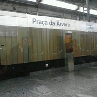Foto tirada no(a) Estação Praça da Árvore (Metrô) por Gardenia F. em 5/29/2012