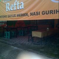 """Photo taken at Pondok Makan """"REFTA"""" cabang babarsari by Lady D. on 2/19/2012"""