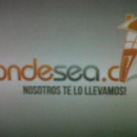 Photo taken at Donde Sea by Ximena A. on 6/3/2012