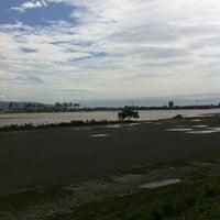 Photo taken at 安倍川右岸堤防静岡大橋付近 by chida3 on 6/20/2012