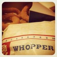 Photo taken at Burger King by Shida on 3/3/2012