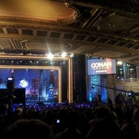 Photo taken at CONAN Chicago @ Chicago Theater by Leyla A. on 6/14/2012