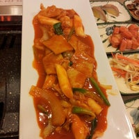 Photo taken at Mureungdowon Restaurant by Tommy z. on 7/12/2012
