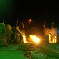 Photo taken at Dragon's Lair Fantasy Golf by Katie M. on 4/14/2012