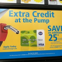 Photo taken at Kroger Fuel Center by Pete K. on 4/26/2012