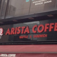 Photo taken at ARISTA Coffee by SEO K. on 3/23/2012