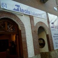 Foto tomada en Taberna La Ola por David B. el 8/27/2012