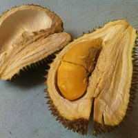 Photo taken at The durian stand by Christian T. on 9/7/2012