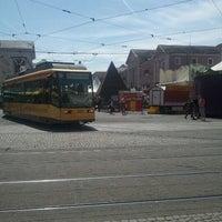 Photo taken at H Marktplatz by Denis R. on 5/10/2012