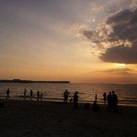 Photo taken at Bagan Lalang Beach by Fei W. on 2/5/2012