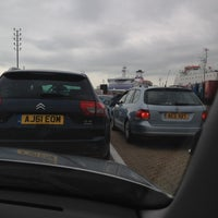 Photo taken at Brittany Ferries Terminal by James H. on 7/3/2012