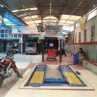Photo taken at OliMart Helmi Service by bd k. on 3/14/2012