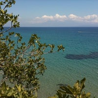 Photo taken at Βουναρια by Natalia A. on 8/17/2012