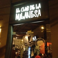 Photo taken at El Club de la Milanesa by Fran T. on 2/21/2012