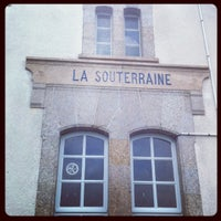 Photo taken at Gare SNCF de La Souterraine by Hélène M. on 7/27/2012