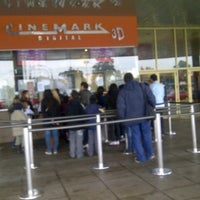 Photo taken at Cinemark by Ariel R. on 8/2/2012