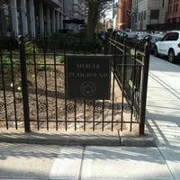 Photo taken at Mercer Street Park by Derrick Y. on 3/23/2012