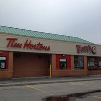 Photo taken at Tim Hortons / Wendy's by Jimmy Y. on 4/26/2012