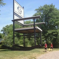 Photo taken at World's Largest Rocking Chair by Scott H. on 5/22/2012