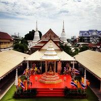 Photo taken at Wat Phichaiyatikaram by Su P. on 6/24/2012