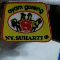 Photo taken at Ayam Goreng Ny. Suharti by ellena e. on 8/22/2012