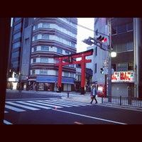 Photo taken at 仏壇通り 東上野三丁目ブロック by masahito i. on 5/3/2012