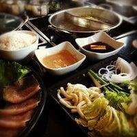 Photo taken at Koji's Sushi & Shabu Shabu by Shaun T. on 6/19/2012