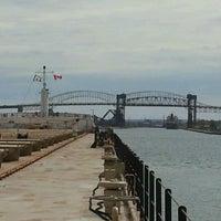Photo taken at Sault Sainte Marie International Bridge by William M. on 5/12/2012