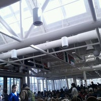 Photo taken at Father John Dean Dining Hall by Victor B. on 2/22/2012