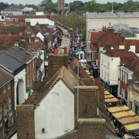 Photo taken at St Albans Clock Tower by Robin H. on 5/19/2012