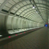 Photo taken at Wheaton Metro Station by Jennifer M. on 8/4/2012
