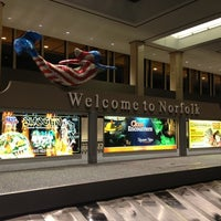 Photo taken at Norfolk International Airport (ORF) by Miss Liberty Tax on 7/25/2012