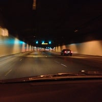 Photo taken at Airport Tunnel by kristeneileen ✌ on 7/14/2012
