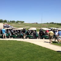 Photo taken at The Harvester Golf Course by Chad M. on 5/10/2012