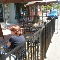 Photo taken at Compass Star Cafe & Wine Bar by Linda M. on 6/13/2012