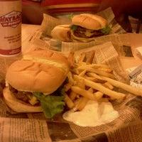 Photo taken at Jake's Wayback Burger by Mena L. on 7/7/2012