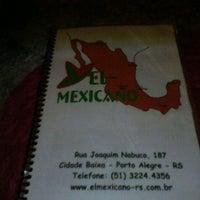 Foto tirada no(a) El Mexicano por Thiago K. em 4/15/2012