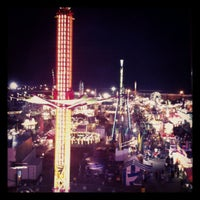 Photo taken at Florida State Fairgrounds by Justina M. on 2/19/2012