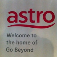 Photo taken at Astro All Asia Broadcast Centre by Amir Zulfadli M. on 8/16/2012
