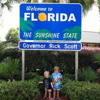 Photo taken at Florida Welcome Center (US 231) by Jamie T. on 7/7/2012