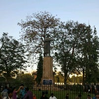 Photo taken at Swami Vivekananda Monument by Krishna A. on 3/8/2012