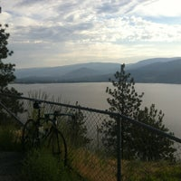 Photo taken at Skaha Lake Rest Stop by Rob M. on 7/9/2012