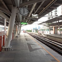 Photo taken at BTS Saphan Khwai (N7) by Kanchana K. on 6/29/2012